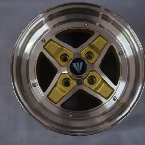 15″ Enkei SK47 Apache Gold Bnew magwheels(4H-PCD114)