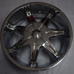 20″ Vernante Chrome Bnew magwheels for Navara (6H-PCD114)