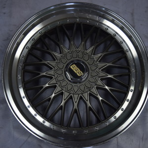 18″ BBS RS Gunmetal Bnew mags (5H-PCD100-114)