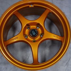 18″Enkei SK01 Orange Bnew Mags(5H-PCD114)
