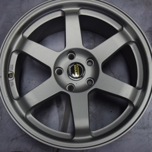 18″ TE37 Sand Silver Bnew Mags(5H-PCD114)