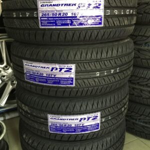 265-50-r20 Dunlop Grandtrek Bnew Tires