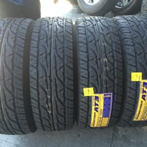 265-70-R16 Dunlop Grandtrek AT3 Bnew Tires