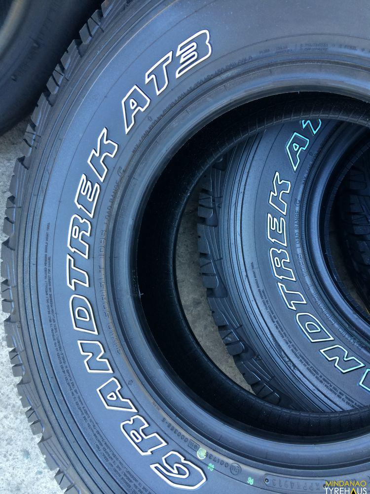 Nitrogen Air For Tires >> 31 X 10.5 r15 Dunlop Grandtrek AT3 Bnew Tires | Mindanao Tyrehaus