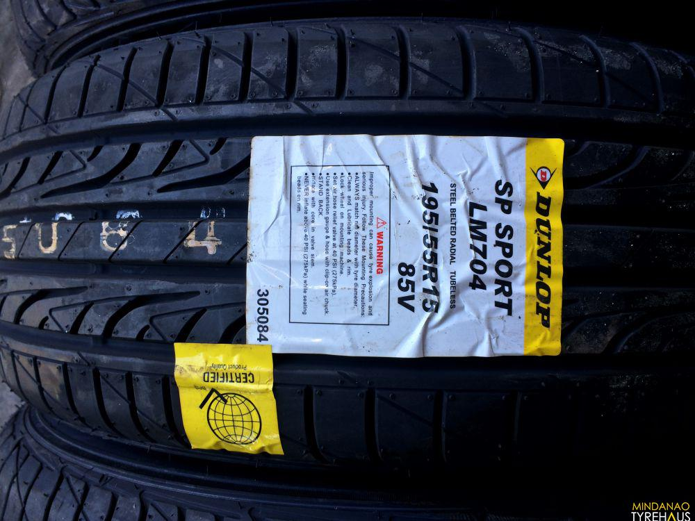 Wheel And Tire >> 195-55-R15 Dunlop Lm704 Bnew Tires | Mindanao Tyrehaus