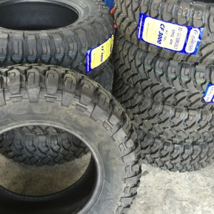 33 X 12.5 R15 Comforser Mud Tires Bnew