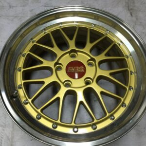 17″ BBS LM Gold Bnew Mags(5H-PCD114)