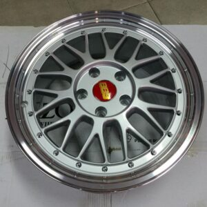 17″ BBS LM Silver Bnew Mags(5H-PCD114)