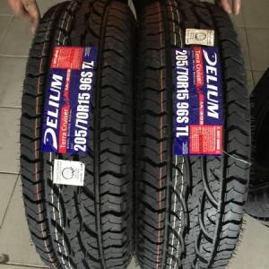205-70-r15 Delium All terrain Bnew Tires