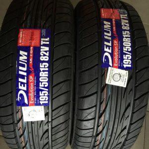 195-50-r15 Delium Bnew Tires