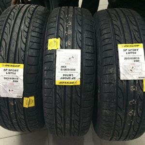 205-65-r15 Dunlop Bnew Tires