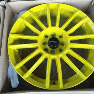 17″ Spoon Yellow 221 Bnew Mags(4H-PCD100-114)