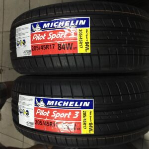 205.45.r17 Michellin Bnew Tires