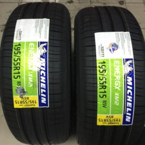 195.55.r15 Michelin XM2 Bnew Tires