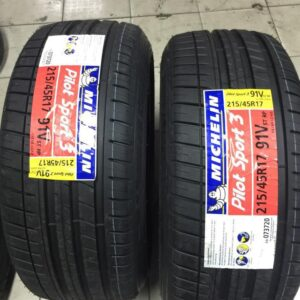 215.45.r17 Michellin Bnew Tires