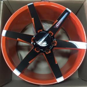 20″Advanti Robona Black/orange mags(6H-PCD139)