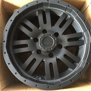 17″MB Wheels V Drive A67 Matte Black bnew Mags(6H-PCD139)