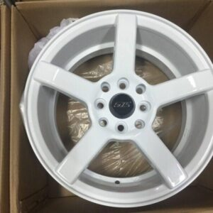 15″ GTS White JH3025 Bnew Mags(4H-PCD100-114