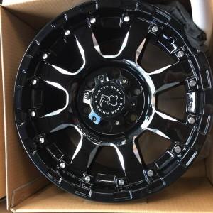 20″ Blackrhino Sierra Gloss black Bnew Mags(6H-PCD139)