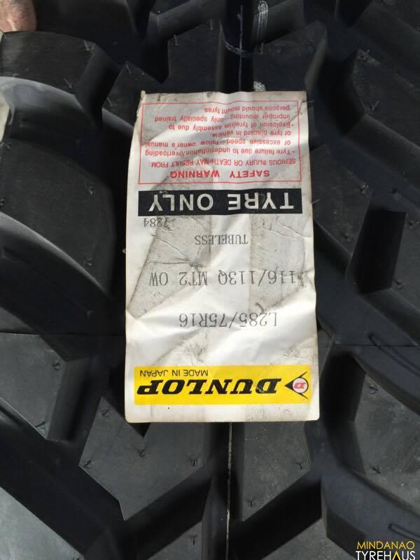 285 75 r16 Dunlop Mud Tires Bnew