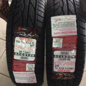 185 70 r14 Radar Bnew Tires