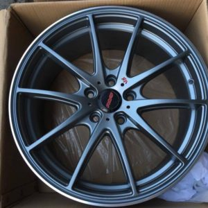 18″ Rays G25 Gunmetal Bnew Mags(5H-PCD114)