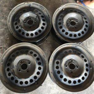 15″ Steel rims used(4H-PCD100)