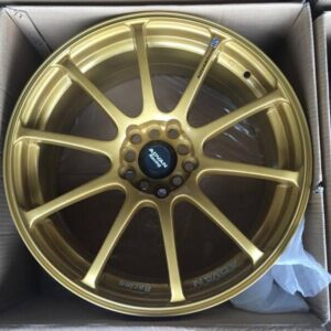 18″ Advan RS Gold Bnew Mags(5H-PCD100-114)