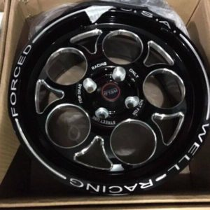15″ Forged racing bnew mags(4H-PCD100)