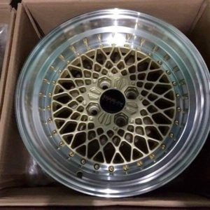 15″ Gold Turbulence Brandnew Mags(4H-PCD100)