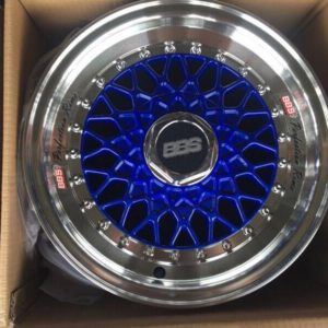 14″ BBS RS Blue Bnew Mags(4H-PCD100-114)
