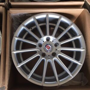 17″ HRE J00110 Silver bnew mags(5H-PCD114)