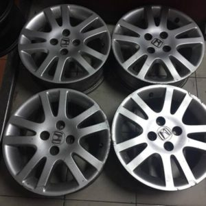 15″ Honda VTI stock used mags(4H-PCD100)