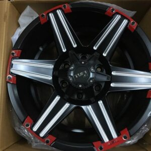 17″ Tuff 76086 red trims mags (6H-PCD139)