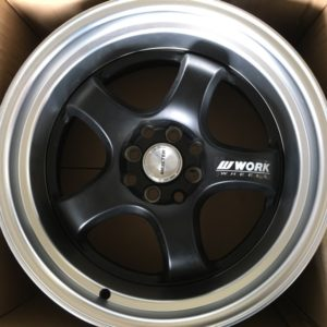 17″ Work Meister Mags wide x9jj Black Bnew Mags(4H-PCD100-114)
