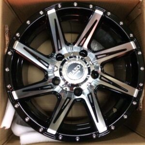 15″ Razo JS856 Bnew Mags (5H-PCD114)x8 offset 0