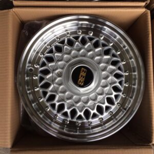 13″ BBS RS Design Silver Bnew mags(4H-PCD100-114)