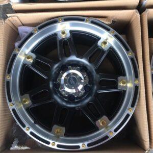 15″ Razo JS08 Brandnew mags 6 Holes PCD139
