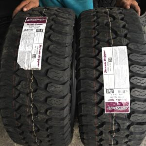 275-55-R20 AMP Terrain Gripper AT Bnew tires