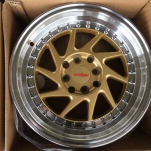 15″ Rotiform OZT Gold Bnew mags(4H-PCD100-114)