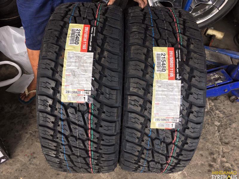 285 50 R20 Nitto Terra Grappler G2 Japan Tires Mindanao