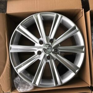 17″ Hypersilver 1377 Toyota Multispoke bnew mags(5H-PCD114)