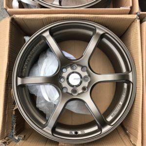 17″Advan-605 RG3 Bronze mags(4H-PCD100-114)
