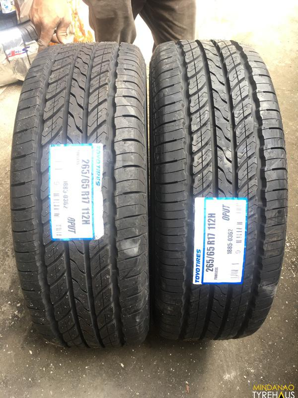 All Terrain Tires >> 265-65-r17 Toyo OPUT bnew open country tires | Mindanao ...