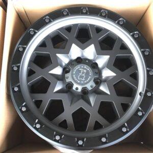 20 Sprocket Bnew blackrhino wheels 6Holes PCD139