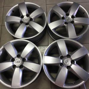 17 Santa fe 5spoke wide magwheels used 5holes pcd 114