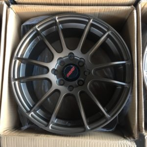 15″ Rays xtreme JL160 Bronze bnew mags(4H-PCD100-114)