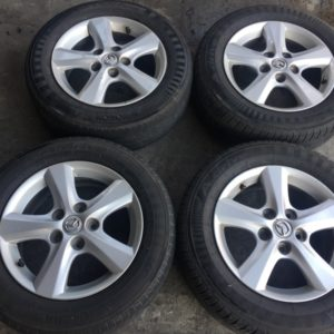 15 Mazda 3 stock mags 5Holes pcd 114 mags only