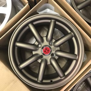 15″ AC701 Bronze Watanabe bnew mags 4holes pcd 100