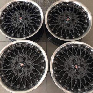 15 Mesh Calibre Used magwheels 4holes pcd 100